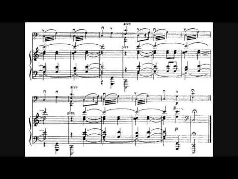 Sergei Prokofiev - Cello Sonata in C major, Op. 119