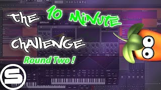 The 10 Minute Dubstep Challenge | ROUND TWO! (Fl Studio 12)