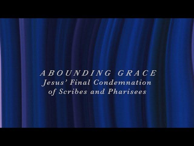 Jesus' Final Condemnation of Scribes and Pharisees   Sam P. Chelladurai   Sunday Service  AFT Church