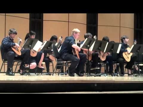 Albuquerque Academy 2011 Advanced Guitar Ensemble