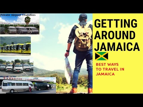 GETTING AROUND JAMAICA (Best ways to travel around Jamaica)