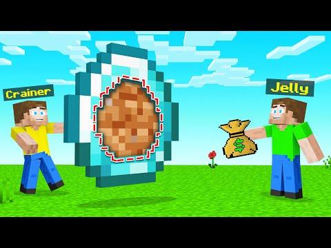 I GAVE My FRIEND A FAKE GIANT DIAMOND In Minecraft!