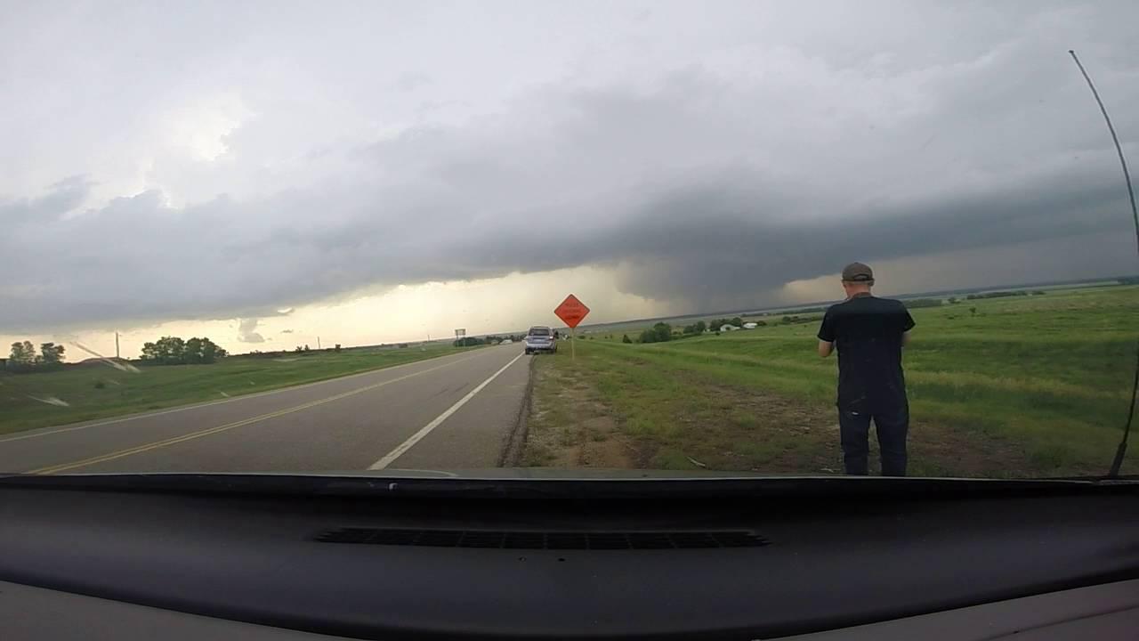 Kansas dickinson county solomon - Ks Tornado Off I 70 Near Solomon Ks
