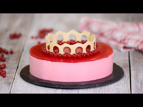 Торт 'Красная смородина'