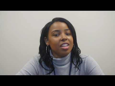 College Achieve Paterson Charter School Teacher of the Year, Ms Porsha Haynes.