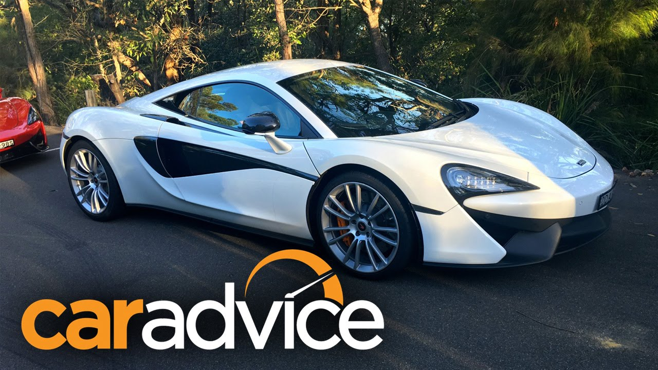 2017 mclaren 540c walkaround — what are the 570s and 540c