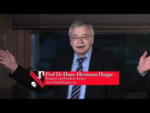"Hoppe in Sydney 2011: ""The State - The Errors of Classical Liberalism"""