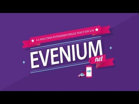 Evenium.net : Inscription en ligne et application mobile pour vos évènements