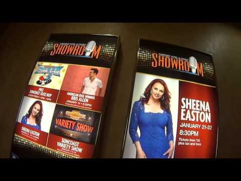Las Vegas SunCoast Casino Tour on Sheena Easton  Night