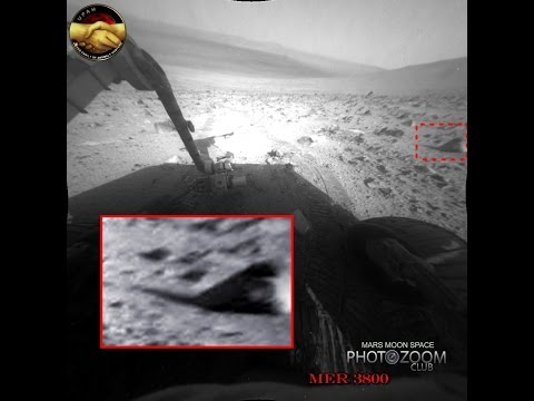 Mars Destroyed Structures. Opportunity sol 3800. Analyst Notebook