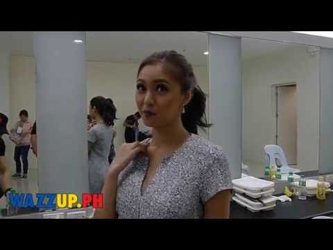 Backstage Interview with Kim Chiu about Xian Lim's Stolen Kiss at the A Date with Xian