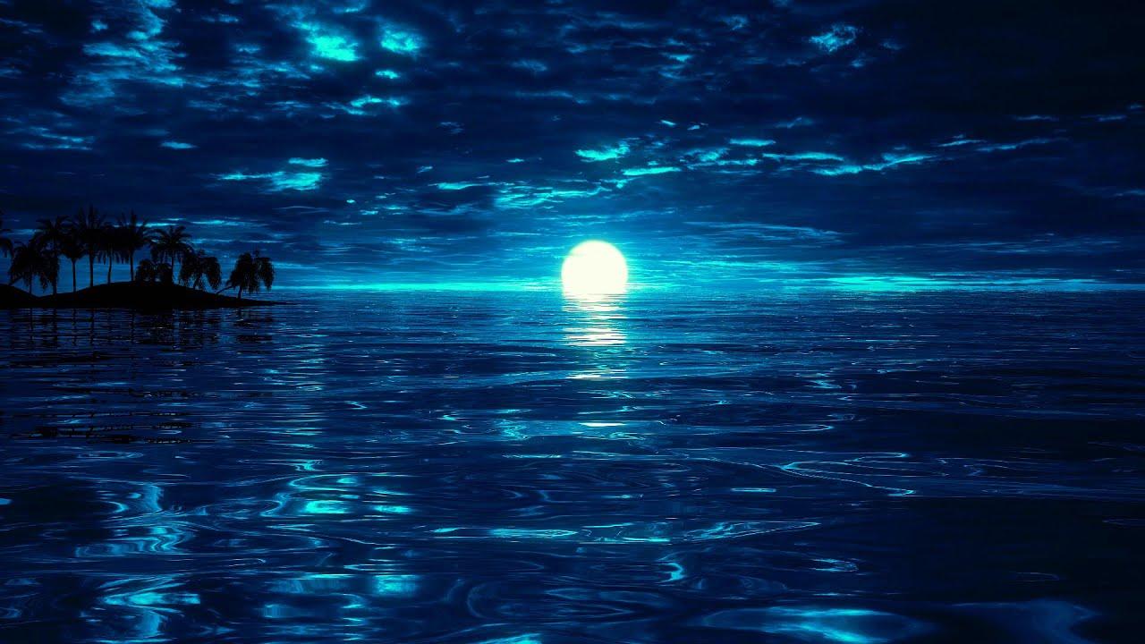 Peaceful Night | Deep Sleep Music 528Hz | Calm Ocean Waves For Sleeping | Sleep Meditation Music