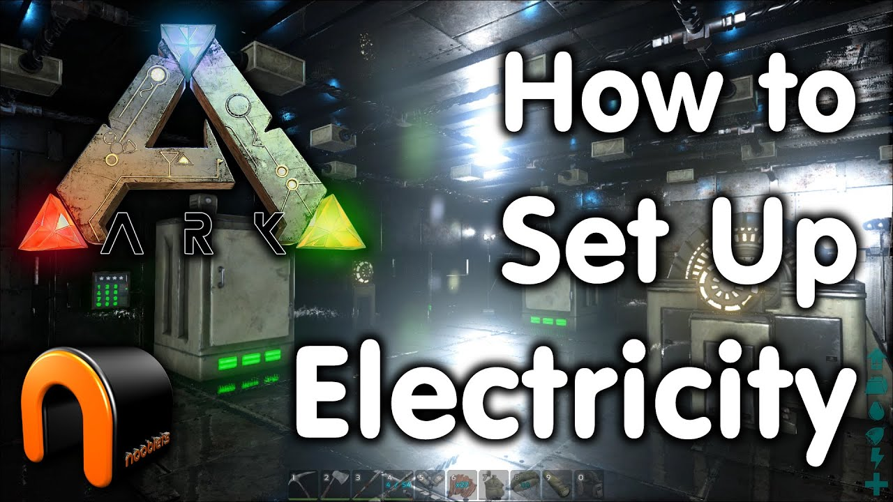High Quality ARK How To Set Up An Electrical Grid U0026 Devices   YouTube