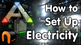 ARK How to Set Up An Electrical Grid & Devices