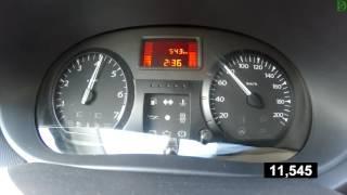 Lada Largus - разгон под нагрузкой 500 кг + водитель (Racelogic)