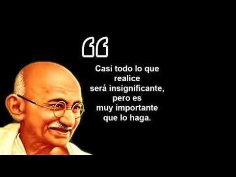 Frases De Mahatma Gandhi Sobre El Amor Vida Paz Felicidad
