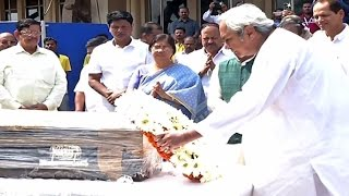 CM Naveen Paid Tribute To His Former Strategist Pyarimohan Mohapatra