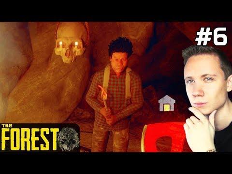 The Forest PL Gameplay [#6] JASKINIA! Czy Przeżyjemy? /z Paweł
