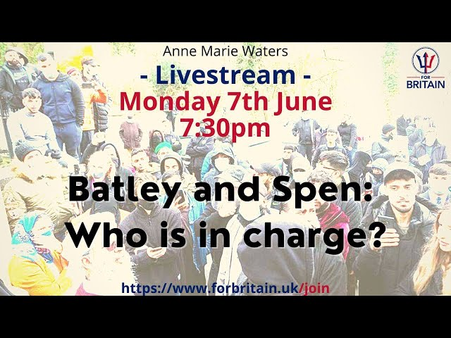 For Britain Live: 7th June 2021 at 19.30 GMT