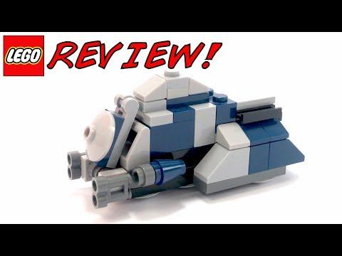 LEGO 30059 Mini MTT Review!   LEGO Star Wars 2012 Clone Wars Polybag Set!
