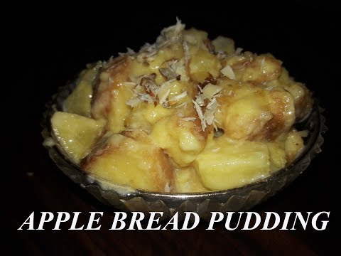 APPLE BREAD PUDDING | AARTI'S KITCHEN