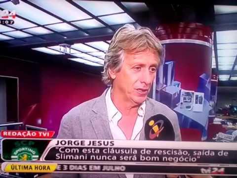 Jorge Jesus no seu melhor