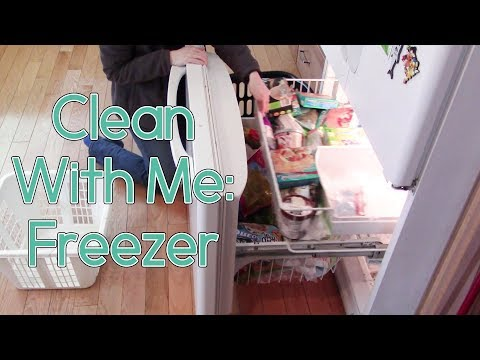 Clean With Me: Cleaning Motivation: Freezer