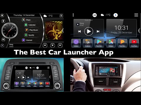 The Best Car Launcher App For Car Stereo
