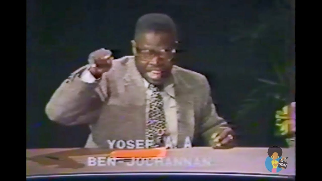 Dr. Yosef Ben-Jochannan & George Simmonds (1987) | African Origins