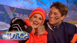 Joey Essex and Ashley Roberts Romance? - The Jump: On The Piste