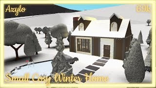 Roblox | Bloxburg: Small Cosy Winter Home (69k) | Giveaway!