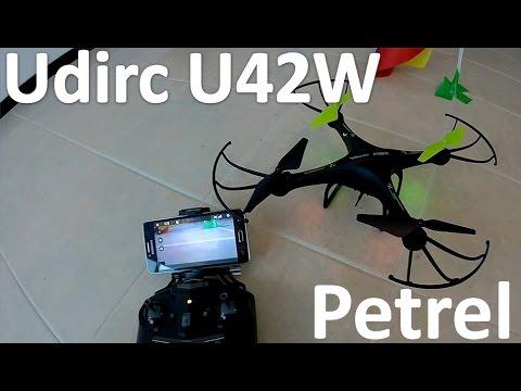 Udirc U42W Review En Español Prueba de Vuelo