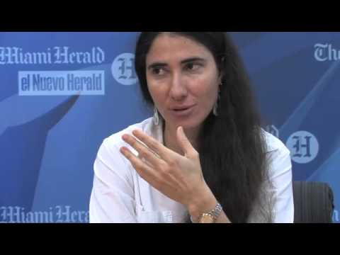 Yoani Sanchez Meets With The Miami Herald Editorial Board (Part 1)