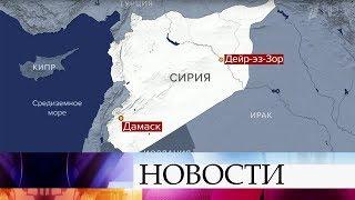 В Сирии в результате обстрела боевиков погибли четверо российских военнослужащих.