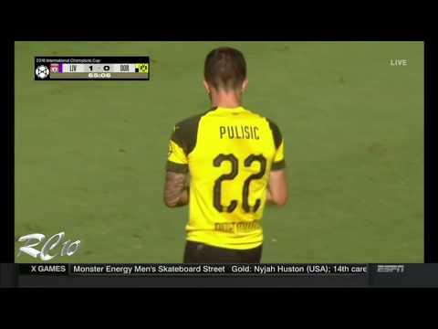 Liverpool vs Borussia Dortmund | All Goals | 1080p | 1-3 | ICC | July 22, 2018