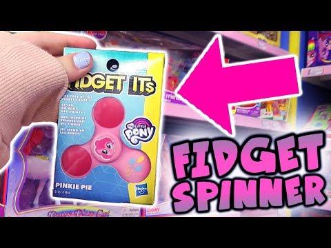 SO MANY FIDGET SPINNERS?! Toys R Us Toy Hunt My Little Pony , Disney & Sylvanian | Alice LPS
