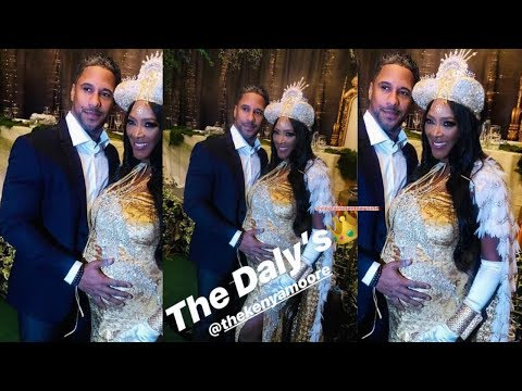 Royalty Pt1: Queen Kenya Moore & Husband Marc Daly Epic Baby Shower