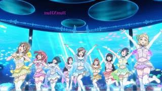 nightcore   love live sunshine aqours koi ni naritai aquarium