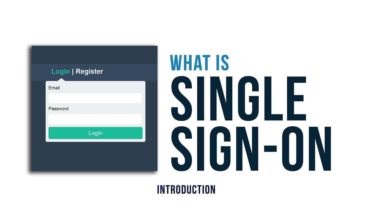What is single sign on sso system how it works youtube for The sign