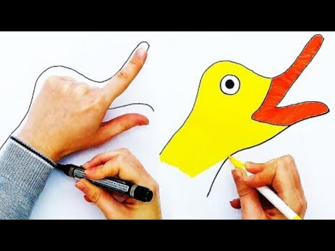 7 Handy Palm Art Hacks Smart Drawing Hacks Craft Factory Youtube