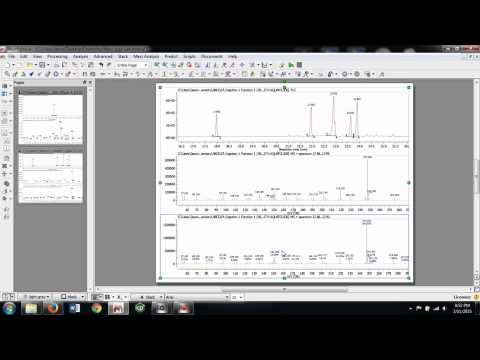Analyzing Mass Spec Data