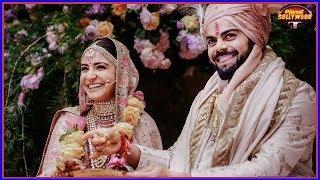 Anushkas Family Arrives In Mumbai Post The Italian Wedding  Bollywood News