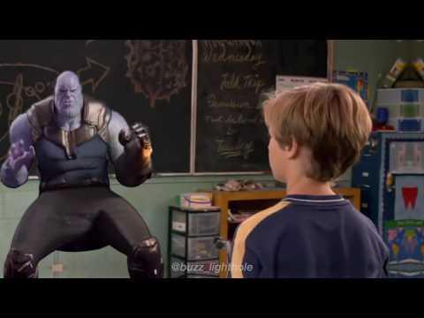 Shark Boy and Lava Girl Thanos Meme