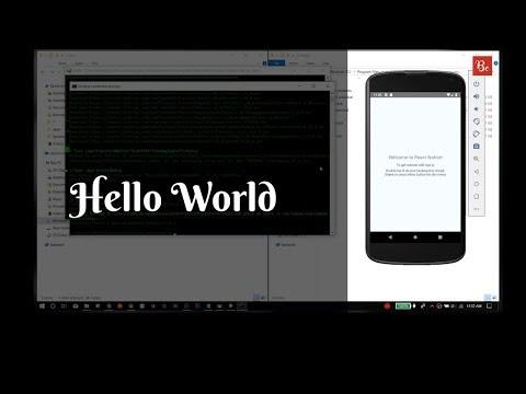 cara-install-react-native-di-windows---hello-world