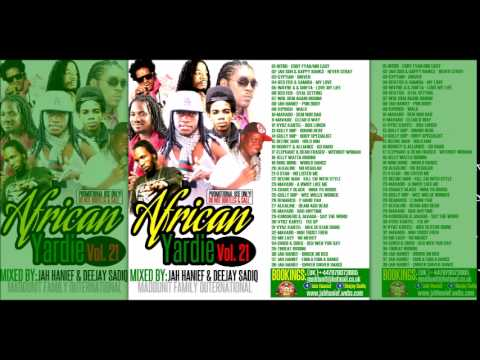 Jamaican Dancehall  2015 _ AFRICAN YARDIE vol.21 mixxed by:
