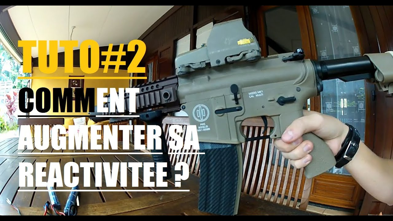 Airsoft comment augmenter la portée