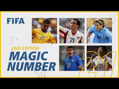 Donovan, Ibrahimovic, Vieri & more! | No21s at Korea/Japan 2002 | Magic Number
