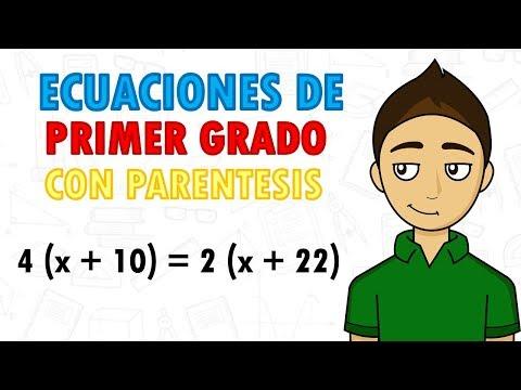 ecuaciones-de-primer-grado-con-parÉntesis-super-fácil---para-principiantes