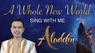 A Whole New World - Mena Part Instrumental - Aladdin