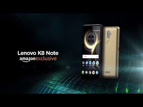 Presenting Lenovo K8 Note   Exclusively on Amazon